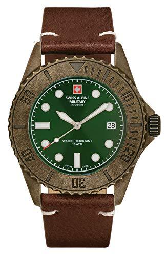 Swiss Alpine Military 7051.1584 Diver Vintage 41mm 10ATM