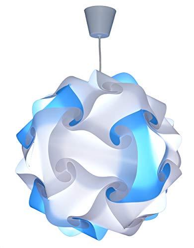 CREATIV LAMP - Suspension Luminaire - Lustre Chambre Prêt à Être Branché | Abat-Jour à Suspendre au Plafond| | Pour Décoration Salon, Chambre Enfants, Ado, Adultes