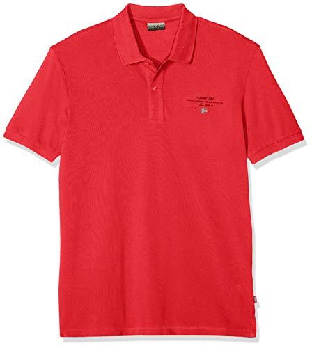 NAPAPIJRI Elbas 2 Polo, Rosso (True Red R70), Medium Uomo