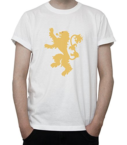 Game of Thrones House Lannister Banner Mens T-Shirt XX-Large