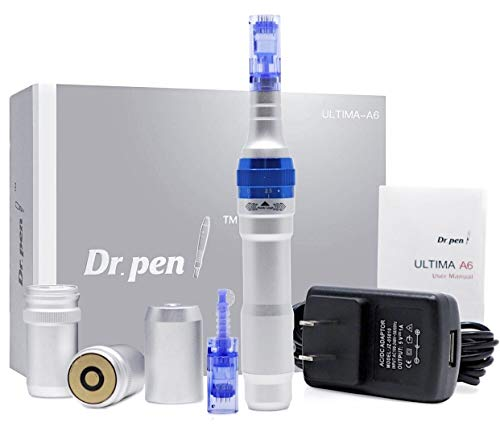 Dr. Pen Ultima A6 Electric Wireless Professional Skincare Kit including 2 Cartridges (12 pin & 36 pin)