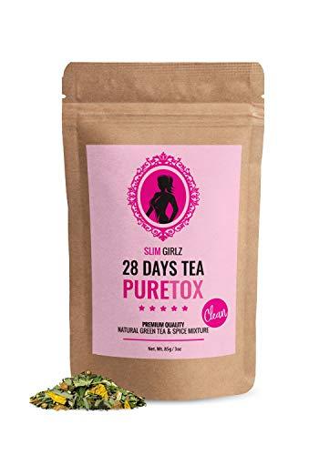 Slim Girlz Detox Tea 28 Days   Té desintoxicante Para Mujer