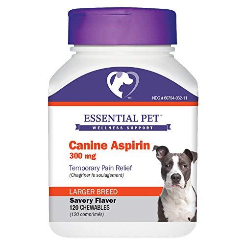 Essential Pet Canine Aspirin 300mg Temporary Pain...