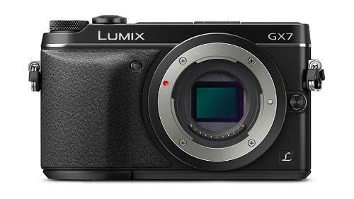 Panasonic ミラーレス一眼カメラ ルミックス GX7 ボディ ブラック DMC-GX7-K