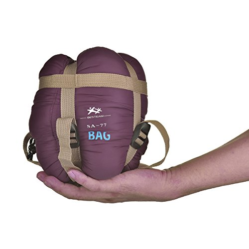 Agemore - Sac de couchage rectangulaire ultraléger pour temps chaud, 190,5...