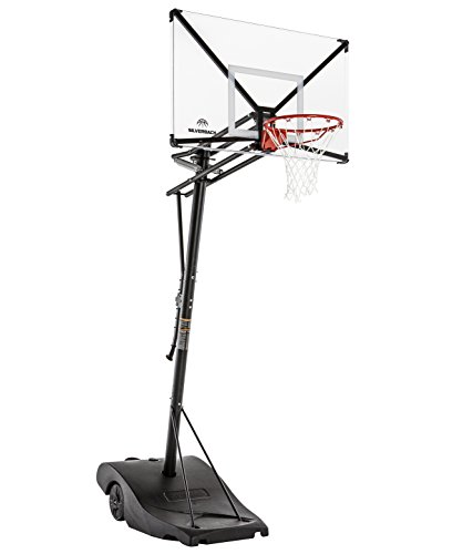 Silverback NXT 50' Backboard Portable Height-Adjustable...