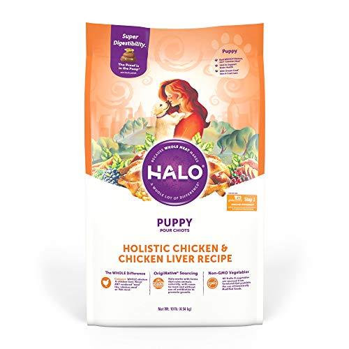 Halo Dry Puppy Food, Wellness Puppy Food, Chicken...