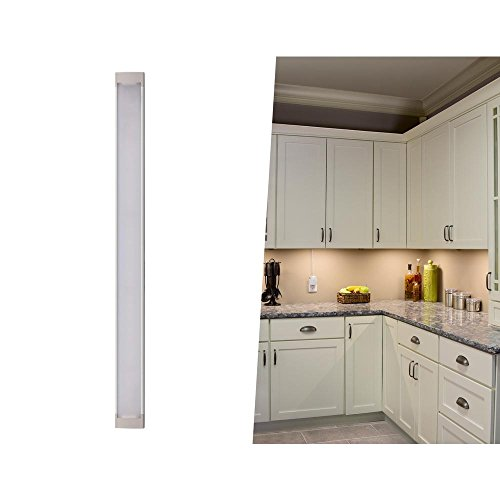 BLACK+DECKER LEDUC9-1WK LED Under Cabinet Kit with Motion Sensor, Dimmable Kitchen Accent Lighting, Tool-Free Install, Warm White 2700k, 9' Length, 1-Bar