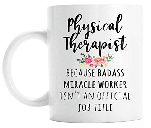 Gift For Physical Therapist, Funny Physical Therapy Coffee...