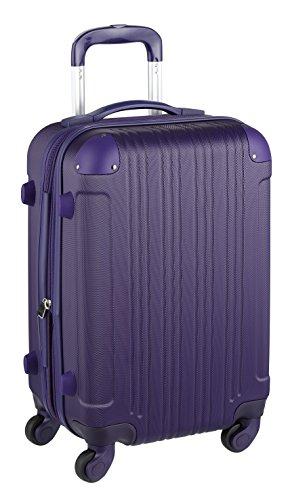 スーツケース キャリーケース キャリーバッグ 安心1年保証 機内持ち込み 可 ファスナー 傷が目立ちにくい SS サイズ 1日 2日 3日 TSAロック ハードキャリー 拡張 ジッパー 女子旅 全サイズ 有り 5082-48 パープル
