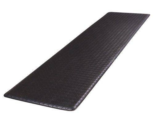 GelPro Basketweave Comfort Floor Mat, 20-Inch by 72-Inch, Black