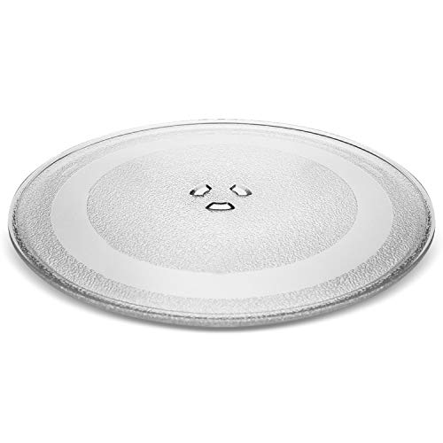 Small 9.6' / 24.5cm Microwave Glass Plate/Microwave Glass Turntable Plate Replacement - For Small Microwaves