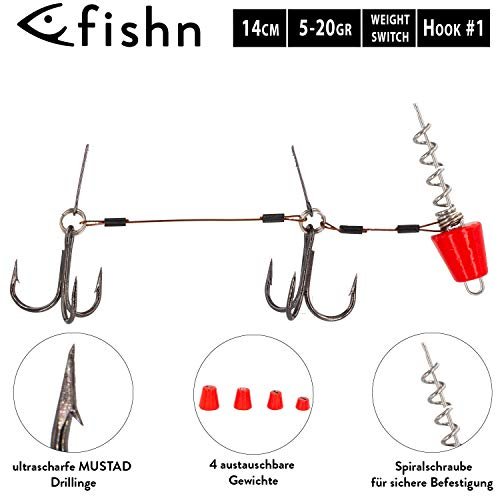 FISHN The Switch rig (Rosso)