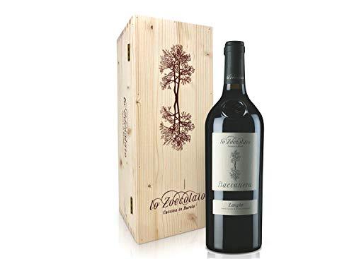 Lo Zoccolaio - Vino Rosso - Langhe Rosso DOC Baccanera 1 X 750 ml + Cassa Legno