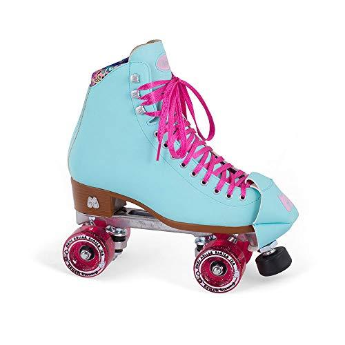 Moxi Skates - Beach Bunny - Fashionable Womens Roller Skates | Periwinkle Sunset | Size 1