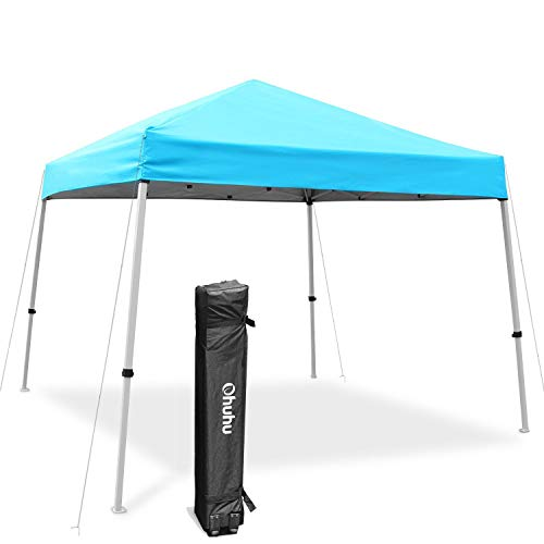 Ohuhu EZ Pop-Up Slant Leg Canopy Tent, 10 X 10 FT Instant...