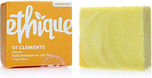 Ethique Shampoo Bar for Oily Hair, St. Clements -...