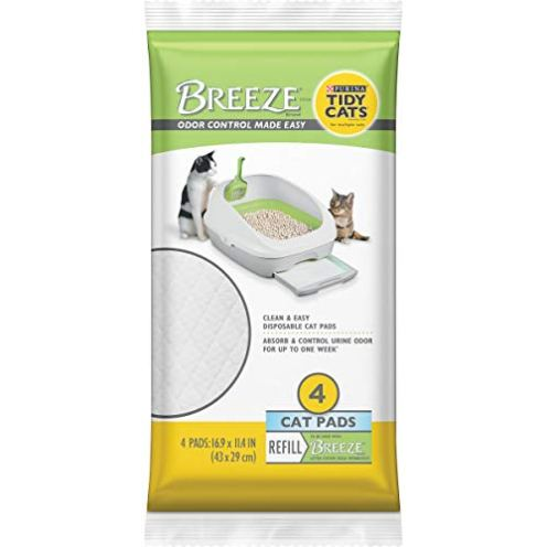 Purina-Tidy-Cats-Cat-Pads-BREEZE-Refill-Pack-10-4-ct-Pouches