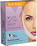V Shaped Slimming Face Mask Double Chin Reducer V Line Lifting Mask Neck Lift Tape Face Slimmer Patch For Firming and Tightening Skin