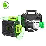 Huepar Niveau Laser Vert à 2 x 360 avec Batterie Li-ion Rechargeable,...