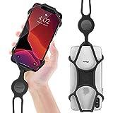 Lanière Tour de Cou de Téléphone Portable en Silicone, Étui Universel...