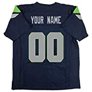 "Custom Football Jerseys is easy - ""Customize Now"" button for and select the team; click the ""customize now"" box in the upper right corner to browse or select the shirt you need; customize your own shirt by selecting the style, size of the shirt, and ..."