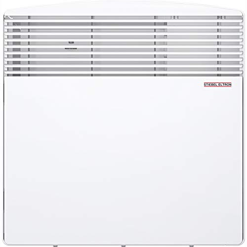 Stiebel Eltron 233586 CNS 100-1 E Wall-Mounted Convection Heater, 1000W, 120V, 17-1/2' W x 17-3/4' H x 3-15/16' D