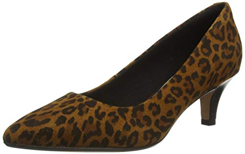 Clarks Linvale Jerica, Zapatos de Vestir par Uniforme Mujer, Interés marrón, 40 EU