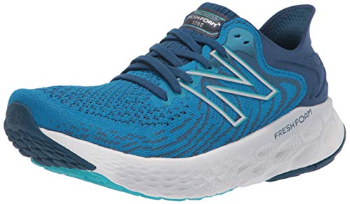 New Balance Men's M1080S11_43 Running Shoes, Blue, 10 UK