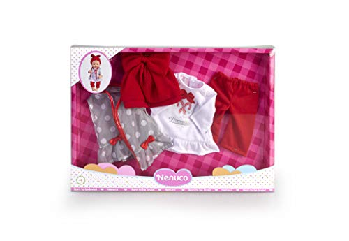 Nenuco - Pacchetto Inverno Deluxe Abbigliamento Famosa Accessori per Bambola, Colore Multicolore, 700015382