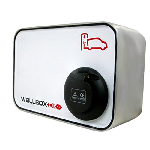 WallboxOK | New Wallbox SOCKET Punto Recarga Coche Eléctrico Pared 32A 400V 22kW Trifásico