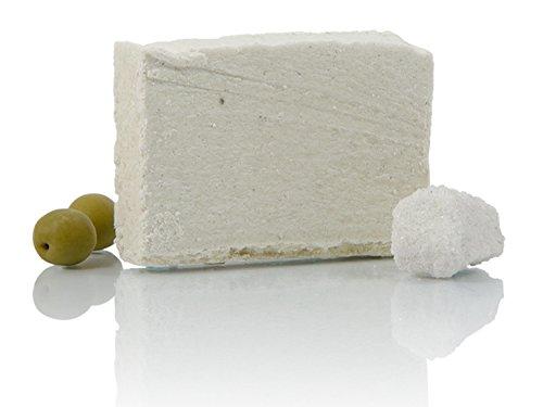 HappySkin Schatz von Siebenbürgen Peelingseife aus Ziegenmilch und Praider Salz, wirkt ideal gegen Pickel und Mitesser, öko. Be Happy Skin! (100g)