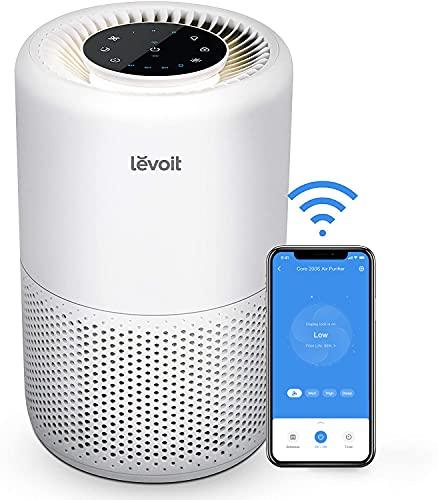 LEVOIT Purificador de Aire Inteligente con Filtro HEPA H13, CADR 170m³/h a 35m², Control por Alexa, Silencio Modo Sueño