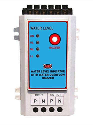 ARP WATER LEVEL INDICATOR Water Level Indicator with Water Overflow Alarm (multicolour)