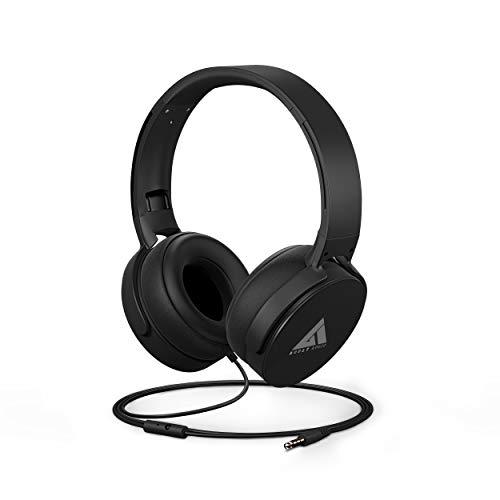 Boult Audio Bass Buds Q2 Over-Ear Wired Lightweight Stereo Headphones, Deep Bass & in-Built Mic,...