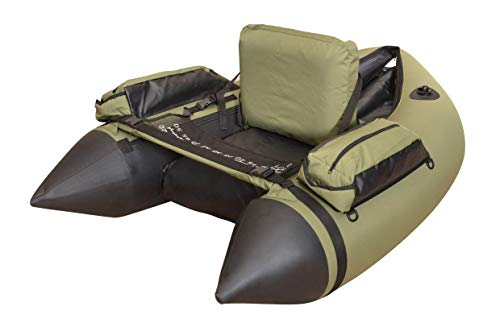 Wistar Inflatable Fishing Float Tube with 4 air Chambers,Big Storage Side Bags,Load Capacity 350 lbs