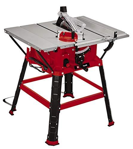 Einhell Scie circulaire de table TC-TS 254 U (max. 2200 W, Ø254 x Ø30 mm lame de scie, butée parallèle/angle/transversale, agrandissement de support, lame de scie inclinable, raccord d'aspiration).