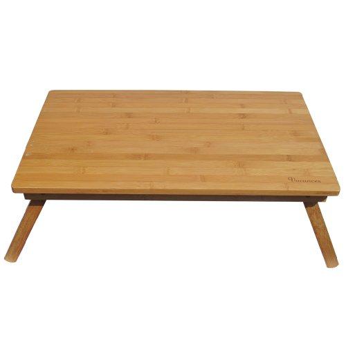 スパイス バカンス 折りたたみバンブーローテーブル ナチュラル サイズ:約W60 D30 H22 KJLF2050