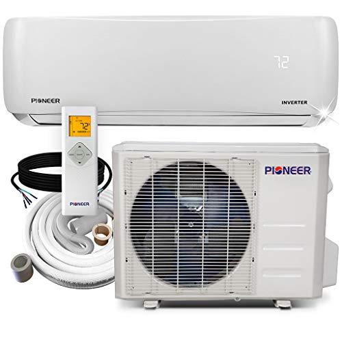 Pioneer Air Conditioner WYS012G-19 Wall Mount Ductless Inverter+ Mini Split Heat Pump, 12000 BTU-208/230V