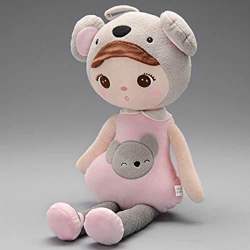 Boneca metoo jimbao koala 40cm, Metoo, Rosa Claro