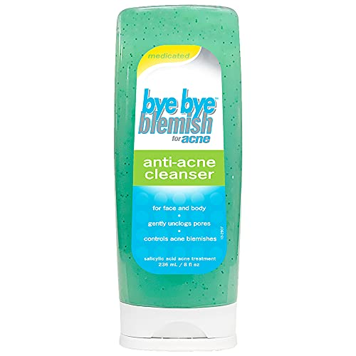 Bye Bye Blemish Anti-Acne Cleanser with Menthol,...
