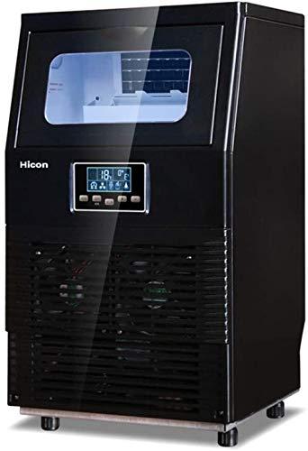 Nero commerciale Ice Maker Automatico Incasso sotto contatore/Macchina del ghiaccio Portatile per...