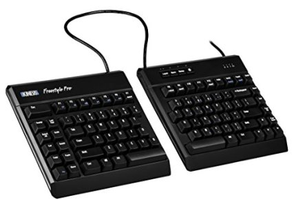 Kinesis Freestyle Pro Ergonomic Split Mechanical Keyboard (Cherry MX Brown Switches) - KB900-brn