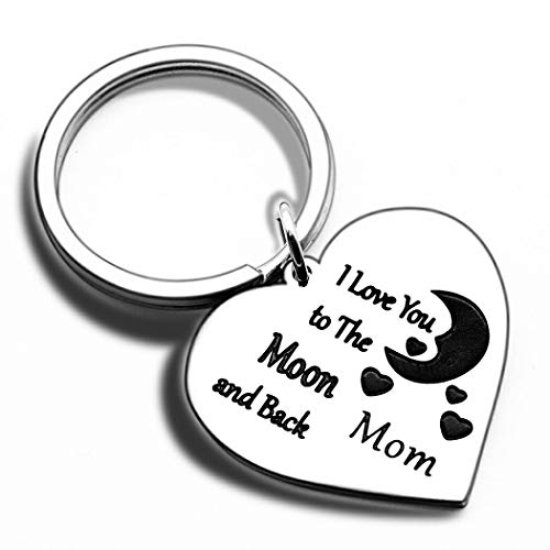 Mothers Day Gifts Keychain for Mom from Daughter Son In Law-...