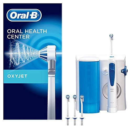 Oral-B OxyJet Reinigungssystem, mit Mikro-Luftblasen-Technologie, 4 Aufsteckdüsen
