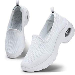 HKR Donna Scarpe da Ginnastica Sportive Sneakers Running Basse Sport Fitness Sneakers