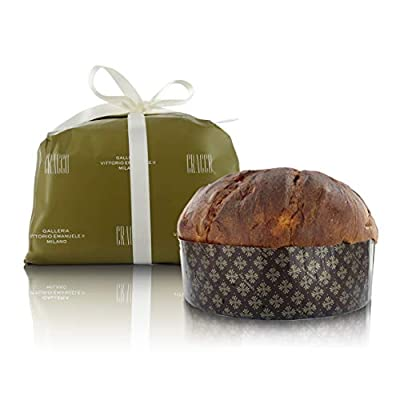 Traditional panettone made with artisanal techniques ⭐Baked in Milan (Italy), homeland of traditional panettone High quality ingredients meet the tradition & mastery of pastry chef M. Pedron 👨‍🍳 Naturally leavened; net weight: 1 kg / 35 ¼ oz / 2.2 lb...