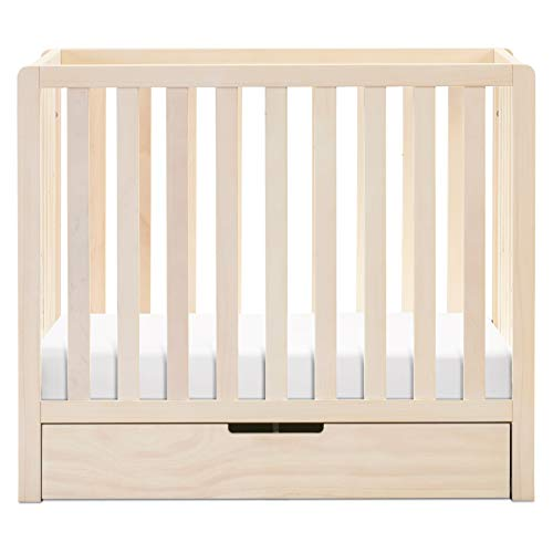 Product Image 7: Carter's by DaVinci Colby 4-in-1 Convertible Mini Crib with Trundle in Washed Natural, Greenguard Gold Certified