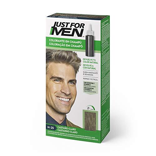 Just for men, Tinte Colorante en champú para el cabello del