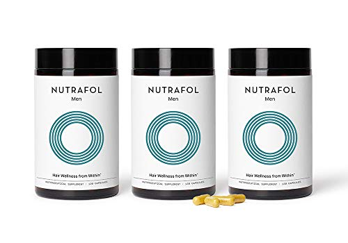 Nutrafol Mens Hair Growth Supplement for Thicker, Stronger Hair (4...